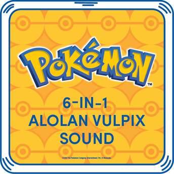 6-in-1 Alolan Vulpix Sound - Build-A-Bear Workshop®