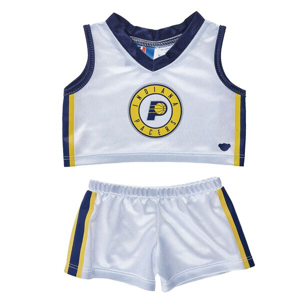 Indiana Pacers Stuffed Animal Uniform (2 pc.) | Build-A-Bear, , hi-res