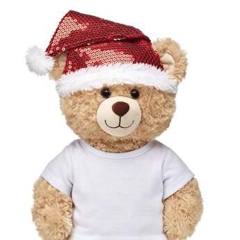 Red Sequin Santa Hat - Build-A-Bear Workshop®