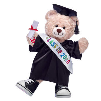 Happy Hugs Teddy Class of 2020 Gift Set, , hi-res