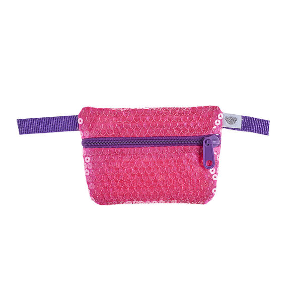 Pink Sequin Waist Pack, , hi-res