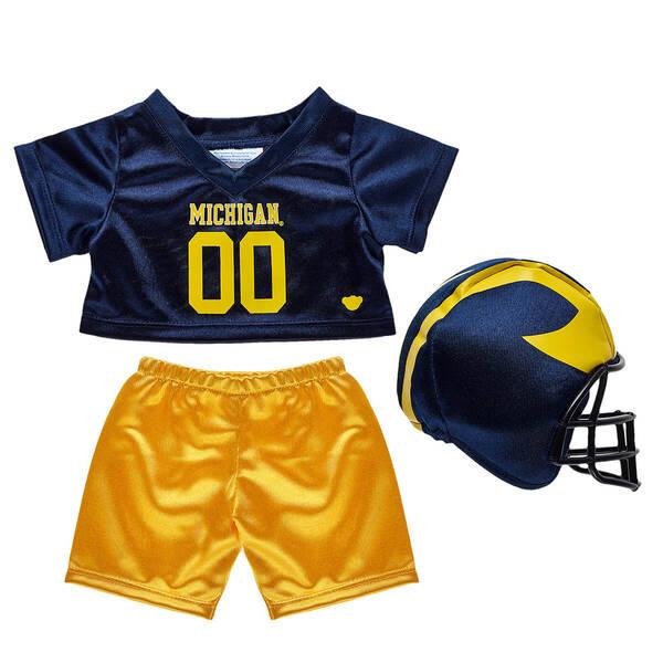 University of Michigan Football Uniform 3 pc. - Build-A-Bear Workshop®