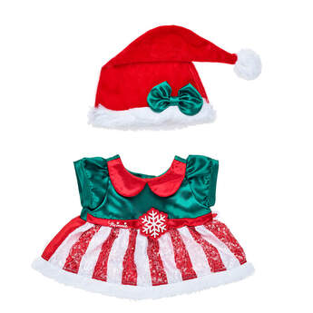 Online Exclusive Disney Minnie Mouse Holiday Dress - Build-A-Bear Workshop®
