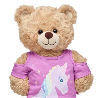 Just like magical unicorns are one of a kind, this sparkly tee shirt for stuffed animals is sure to make your furry friend stand out. Outfit a furry friend online to make the perfect gift. Free shipping on orders over $45. Make your own stuffed animal online with our Bear Builder or visit a store near you.
