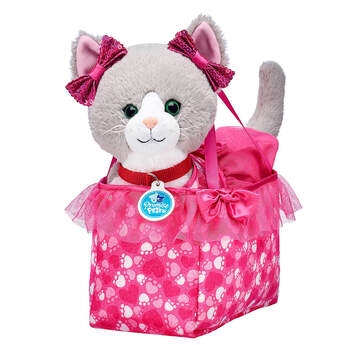 Promise Pets™ Grey Cat Pink Purse Gift Set, , hi-res