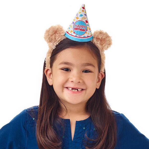 Birthday Bear Ears Headband for Kids - Build-A-Bear Workshop®