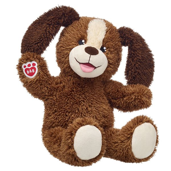 This adorable Playful plush pup is sure to become your best friend! Customize your furry friend with unique clothing & accessories to make the perfect gift. Free Shipping on orders over $45. Customize your own stuffed animal online with our Bear Builder or visit a store near you.