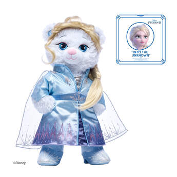 Disney Frozen 2 Elsa Inspired Bear Travel Gift Set with Sound, , hi-res