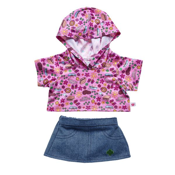 Girl Scout S'mores® Hoodie & Skirt Set 2 pc., , hi-res