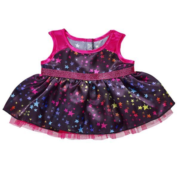 Rainbow Star Dress, , hi-res