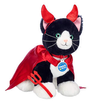 Online Exclusive Devilishly Cute Kitty Tuxedo Cat Gift Set, , hi-res