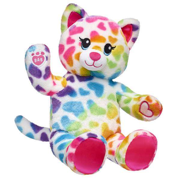 This soft kitten brings the colorful cuteness by having special paw pads that can attach to the paws of Rainbow Friends animals can hug and hang out.