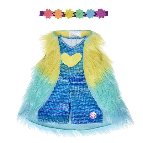 Build A Bear Workshop DreamWorks Trolls Poppy Blue Dress