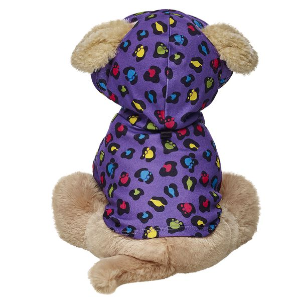 Promise Pets™ Purple Leopard-Print Hoodie, , hi-res