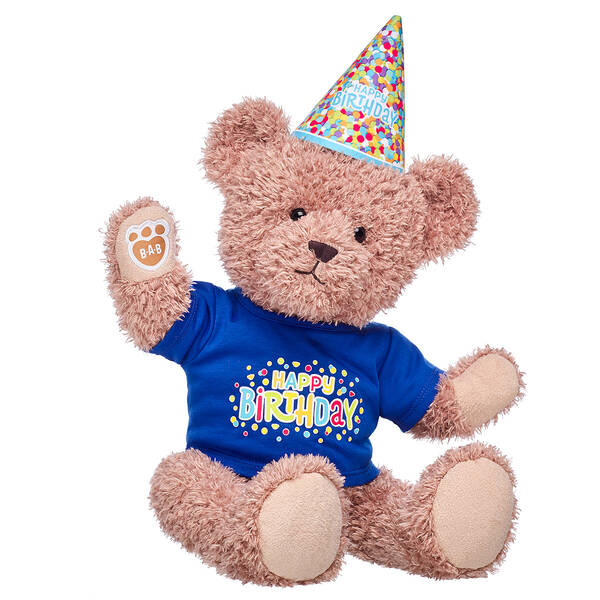 Online Exclusive Everlasting Teddy Blue Birthday Gift Set, , hi-res