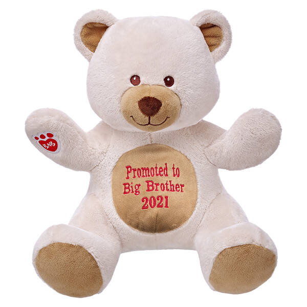 Online Exclusive Personalized Ivory Velvet Hugs Teddy - Build-A-Bear Workshop®