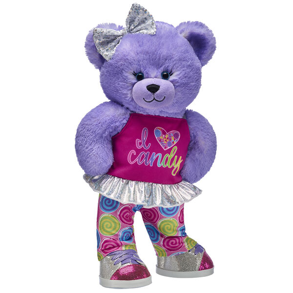 Purple Candy Pop Bear Gift Set, , hi-res