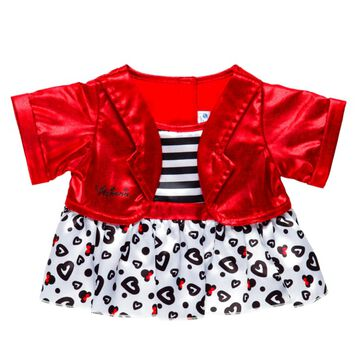 Disney Minnie Mouse Red Jacket Outfit, , hi-res