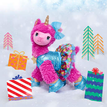 Pink Sparkle Llamacorn Gift Set, , hi-res