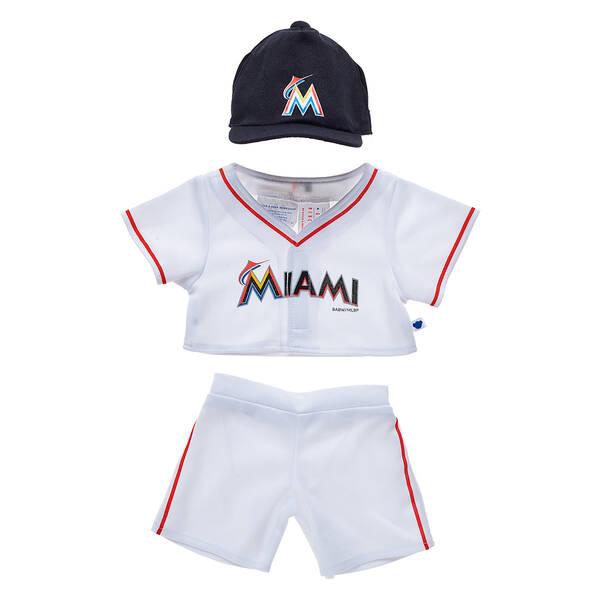 Miami Marlins™ Uniform 3 pc. - Build-A-Bear Workshop®