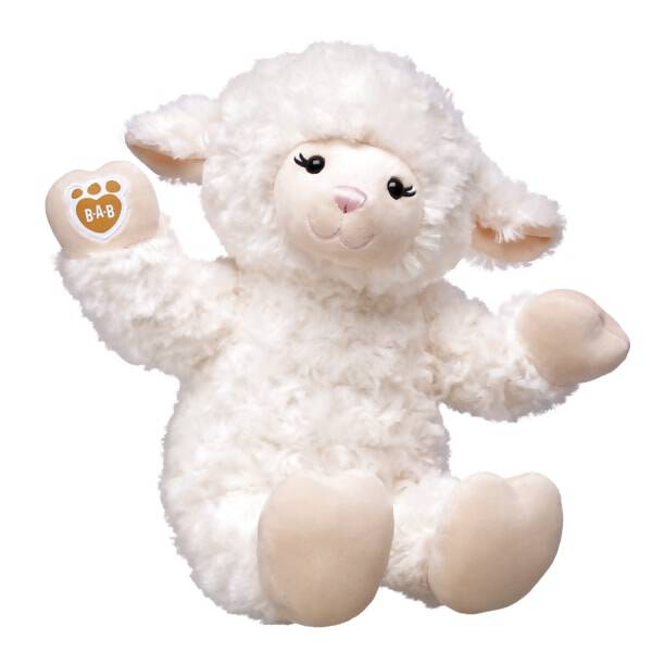 Soft and cuddly, this Vanilla Swirls Lamb stuffed animal is as sweet as can be! This online exclusive lamb stuffed animal features ultra soft white fur with cream colored hands and feet. Dress Vanilla Swirls Lamb in a wide range of outfits and accessories and your furry friend is ready for some snuggles!