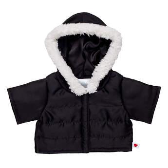 Black Puffer Jacket - Build-A-Bear Workshop®