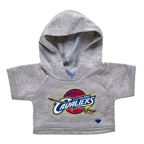 Defend the Land. With LeBron James in the lead, the Cleveland Cavaliers are perennial favorites for post-season action! This grey furry friend-sized hoodie features the Cavaliers dynamic logo on the front. Go Cavs! NBA and NBA team identifications are the intellectual property of NBA Properties, Inc. and the respective NBA member teams. é 2017 NBA Properties, Inc. All Rights Reserved.