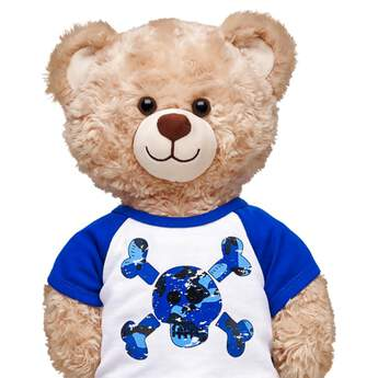 Blue Skull T-Shirt - Build-A-Bear Workshop®