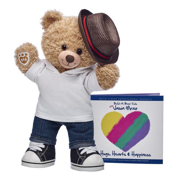 Jason Mraz Bear and CD Album Gift Set, , hi-res