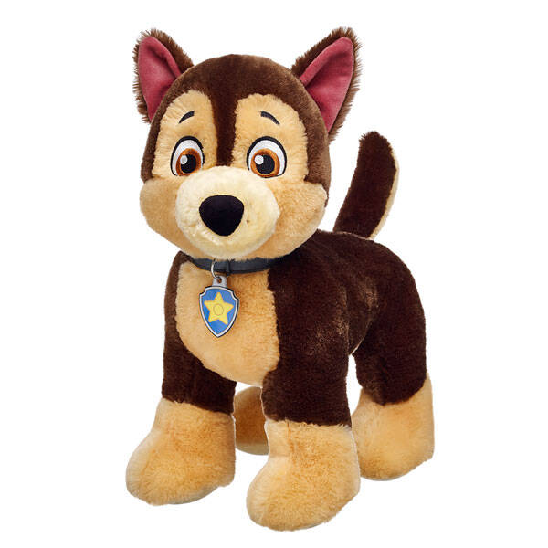 Chase is on the case! The PAW Patrol's German Shepherd police pup is a natural leader. He's athletic, smart, organized and can solve any mystery.
