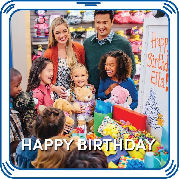 Send special birthday wishes with this stuffed animal Birthday Song sound accessory! Bring your furry friend to life with sounds to make the perfect gift. Free Shipping on orders over $45. Customize your own stuffed animal online with our Bear Builder or visit a store near you.