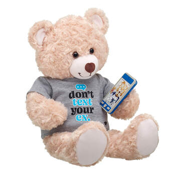 Online Exclusive Happy Hugs Teddy Don't Text Your Ex Gift Set, , hi-res