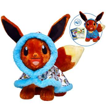 pokémon collection eevee stuffed animal gift bundle
