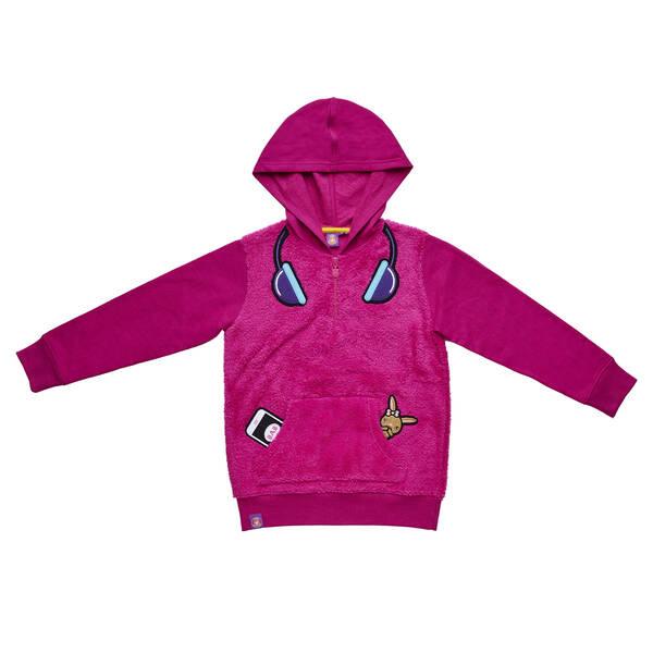 Online Exclusive Kabu™ Pink Half Zip Sherpa Hoodie - XLarge, , hi-res