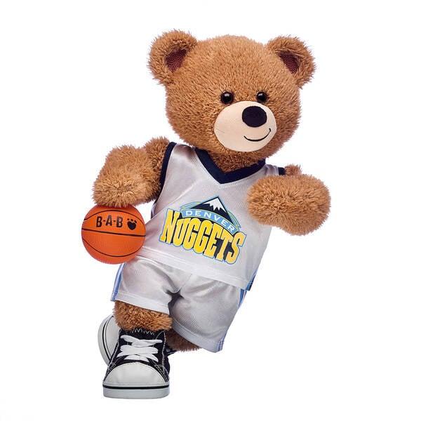 Basketball Bear Denver Nuggets Gift Set, , hi-res