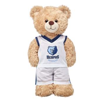 Slam dunk! This authentic Memphis Grizzlies NBA uniform includes a jersey and shorts and is the perfect size for your furry friend! NBA and NBA team identifications are the intellectual property of NBA Properties, Inc. and the respective NBA member teams. © 2015 NBA