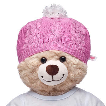 d7b63c506d7 Keep your furry friend  39 s ears warm with this FURbulous pink beanie.