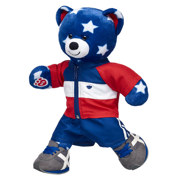 Stars N' Stripes Bear Gift Set, , hi-res