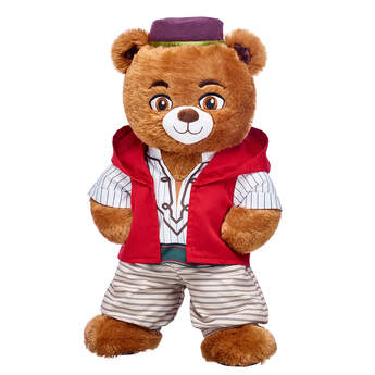Online Exclusive Disney Aladdin Inspired Bear Gift Set, , hi-res