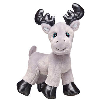 Go on a winter woodland adventure with Grey Gust Moose by your side! This smiley Christmas Moose stuffed animal loves hugging and snuggling with friends. Outfit this furry friend online to make the perfect gift. Free shipping on orders over $45. Shop online or visit a store near you!