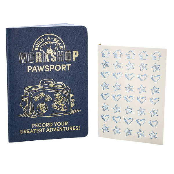 Keep track of your furry friend's greatest adventures in their very own Pawsport. This official Pawsport includes stickers!