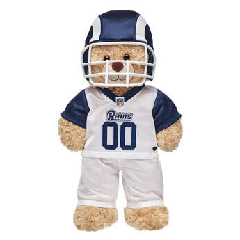 This bear-sized Los Angeles Rams football uniform for stuffed animals comes with a plush helmet, pants and jersey. Personalize a furry friend to make the perfect gift. Free shipping on orders over $45. Shop online or visit a store near you!
