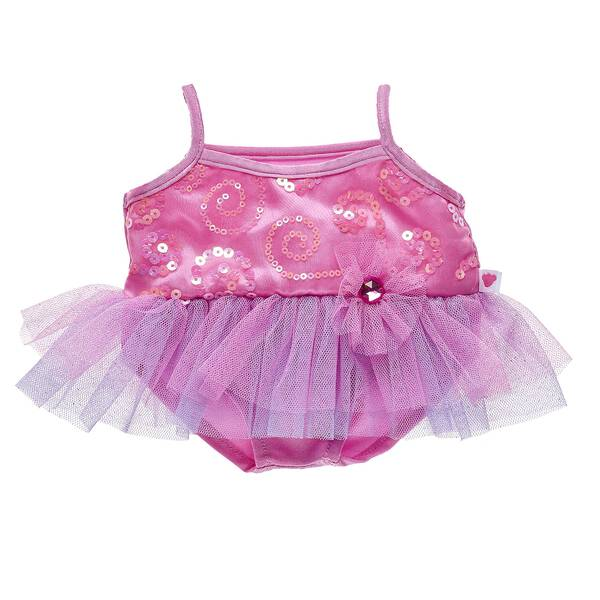 5b5f7cbc46dde Twirl into fun with this adorable ballerina costume for stuffed animals!  Outfit a furry friend