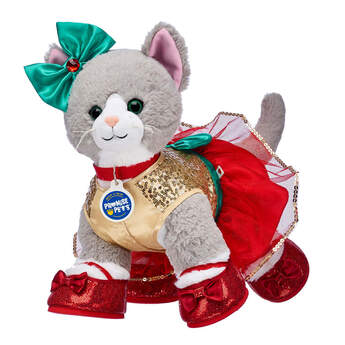 Promise Pets™ Grey Cat Holiday Gift Set, , hi-res