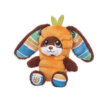 Build-A-Bear Buddies™ Chocolate Stripes Bunny Carrot Gift Set, , hi-res