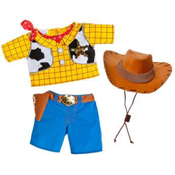 b269a686de1 Turn your stuffed animal into your favorite cowboy friend, Woody. Teddy  bear size costume
