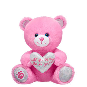 Online Exclusive 10in Pre-Stuffed Flower Girl Bear - Build-A-Bear Workshop®