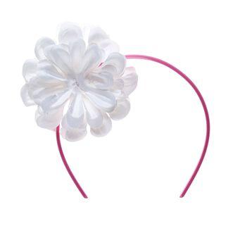 White Flower Headband, , hi-res