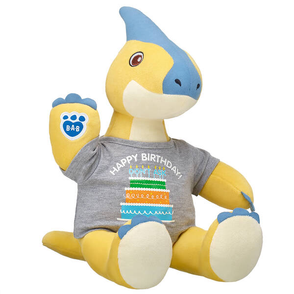 Online Exclusive Yellow Parasaur Birthday Gift Set, , hi-res
