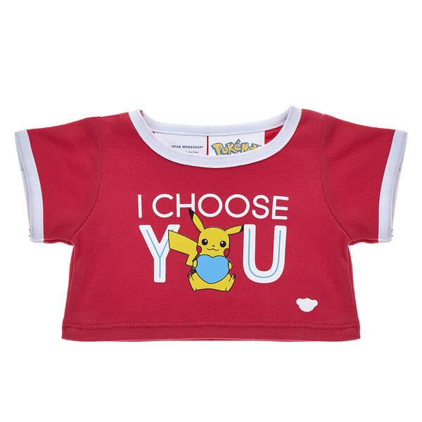 Pokémon™  I Choose You T-Shirt - Build-A-Bear Workshop®